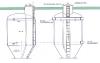Schlammwasserabsetzbehälter