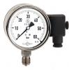 Manometer mit Rohrfeder-messglied und integriertem Drucksensor