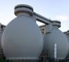 Biogas aus Abfall und Schlamm