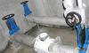 E-Schieber-Drossel Durchflussmessung
