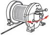 ADLER Elektrowinden mit Trommelfrei