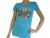 Christian Audigier T-Shirt Blessed aqua türkis