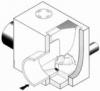 0121n Konisches Wirbelventil nasse Aufstellung UFT-FluidCon
