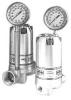 Vordruck- Materialdruckregler mit Manometer
